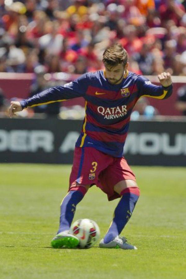 Mencionó a dos compañeros en el Barcelona. Uno de ellos Gerard Piqué Foto:Getty Images