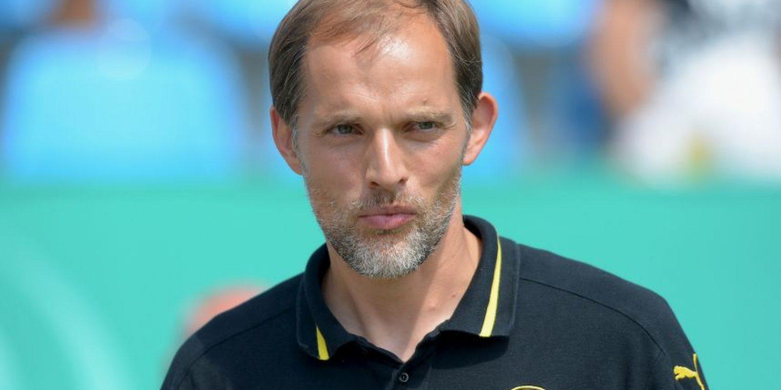 Ahora el timonel del equipo de Dortmund es Thomas Tuchel Foto:Getty Images