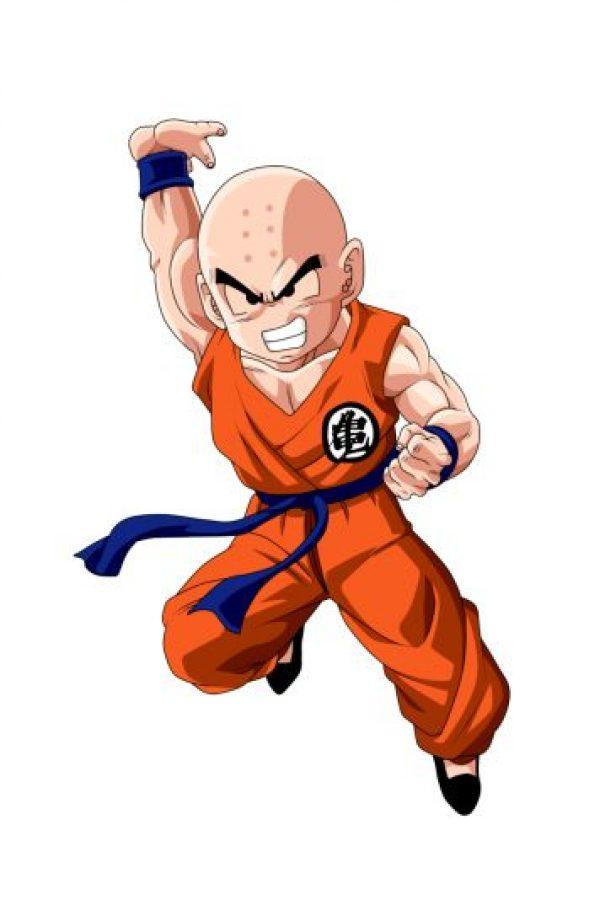 """""""Krillin"""", el mejor amigo de """"Gokú"""" y uno de los humanos más fuertes de la serie. Foto:dragonball.wikia.com"""