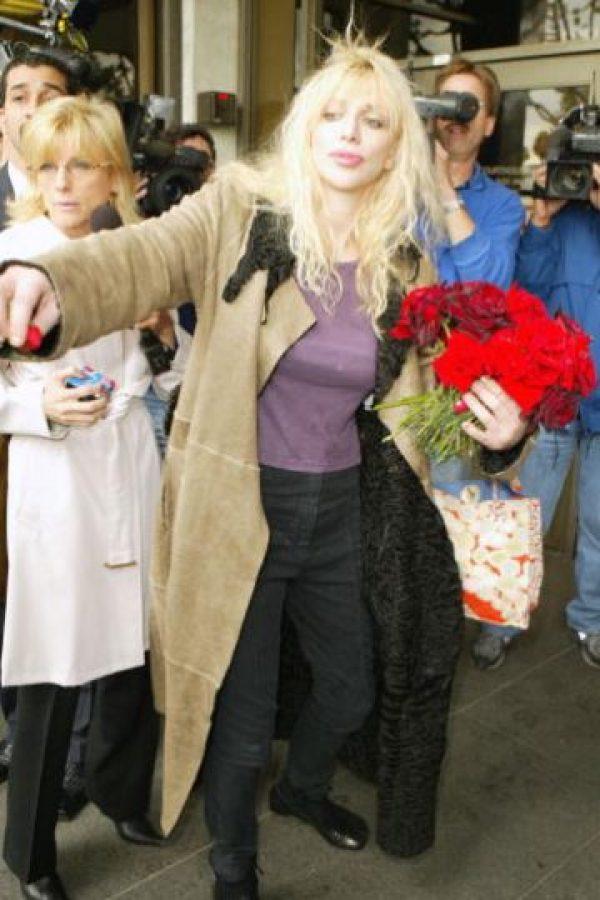 Love también confiesa que ella tuvo una fuerte discusión de pareja con Kurt, debido al tema. Foto:Getty Images