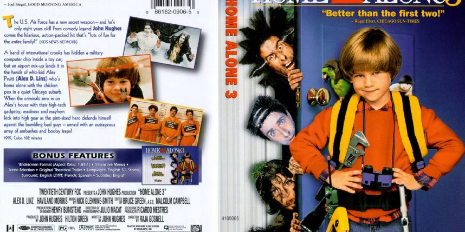 """""""Mi pobre angelito 3"""" fue la continuación de la saga iniciada por McCauly Culkin en los años 90. Foto:vía 20th Century Fox"""