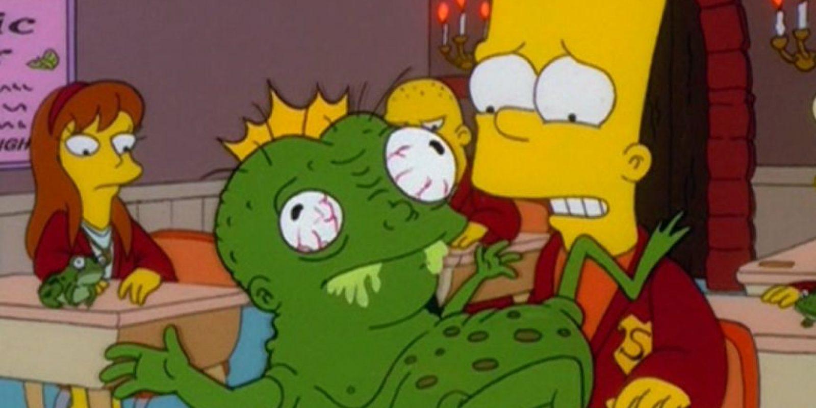 """Incluso """"Los Simpson"""" lo tomaron para su capítulo parodia de """"Harry Potter"""". Foto:vía FOX"""
