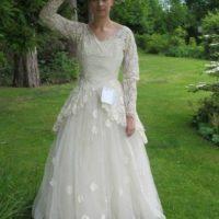 No se sabe si hallaron al propietario original del vestido. Foto:vía eBay