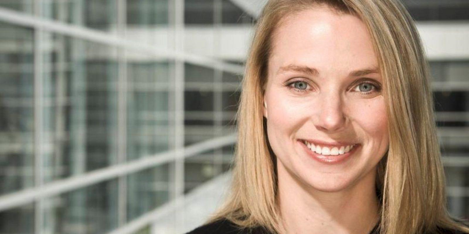 """Marissa Mayer dirige Yahoo desde 2002. Antes trabajó para Google. Según la revista """"Forbes"""" tiene una fortuna de 380 millones de dólares Foto:Vía mundoejecutivo.com"""