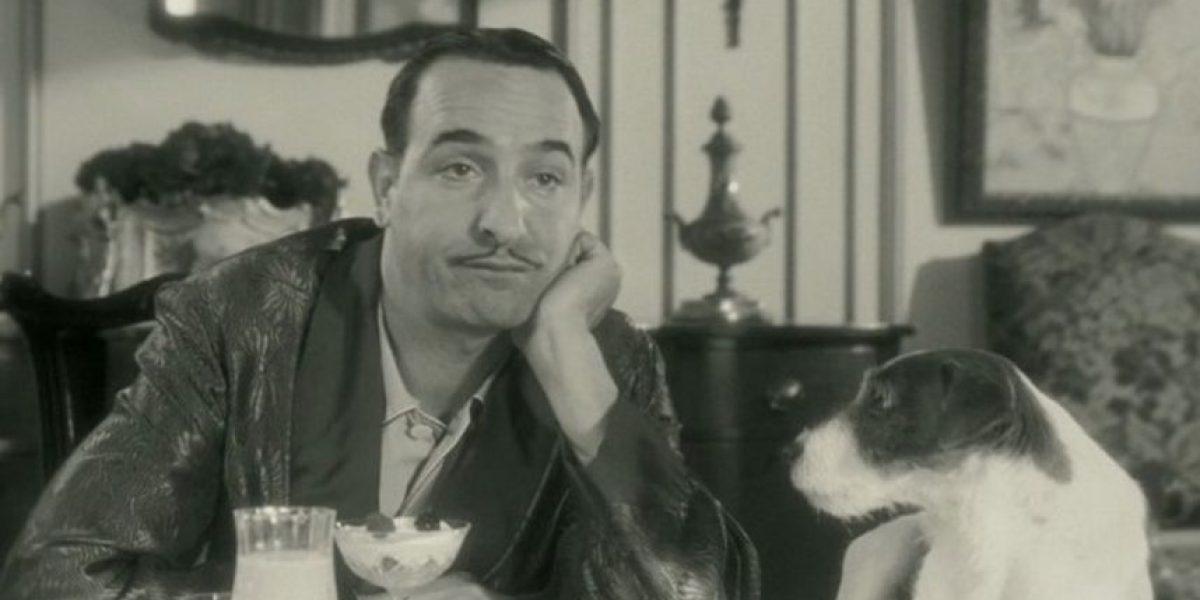 Murió Uggie, el perro de la película