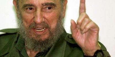 """""""¡Cuando un pueblo enérgico y viril llora, la injusticia tiembla!"""", expresó en 1976, en la despedida a las víctimas de un atentado terrorista contra Cubana de Aviación Foto:Getty Images"""
