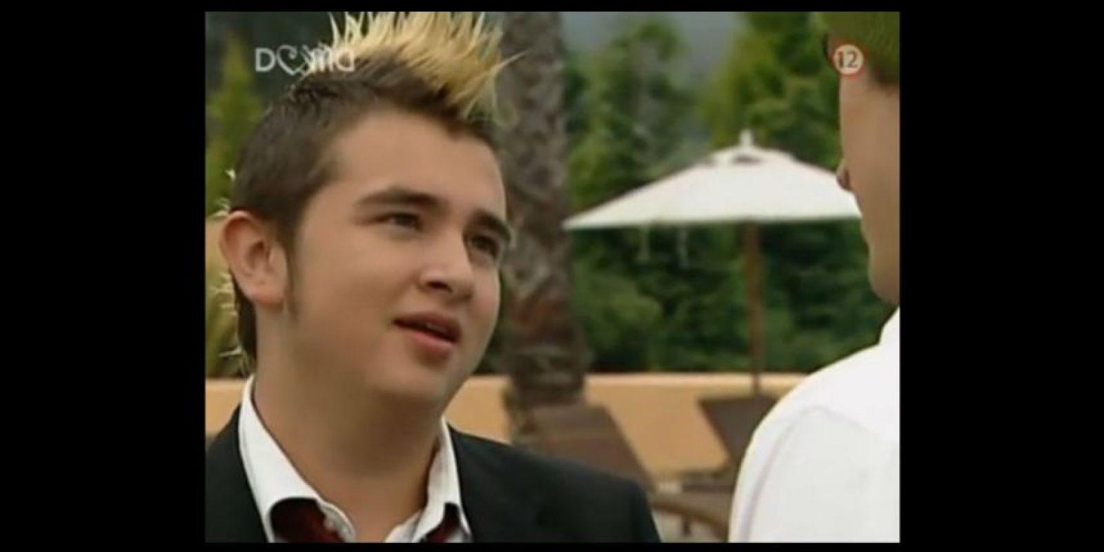 "En 2004 se unió al elenco de ""Rebelde"" Foto:YouTube"