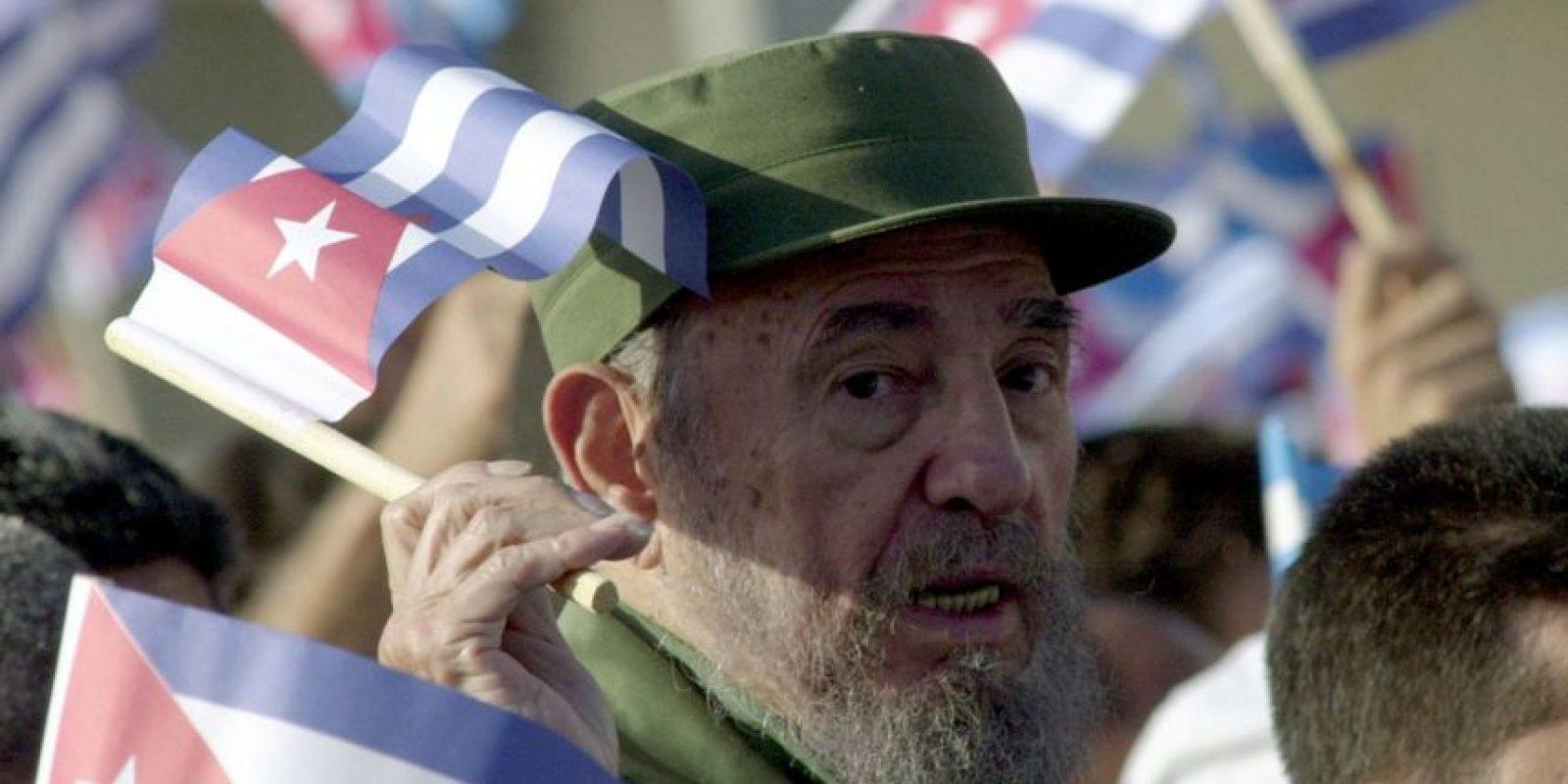 """""""Condenadme, no importa, la Historia me absolverá"""", dijo en su defensa en el juicio por el asalto al Cuartel Moncada. Foto:Getty Images"""