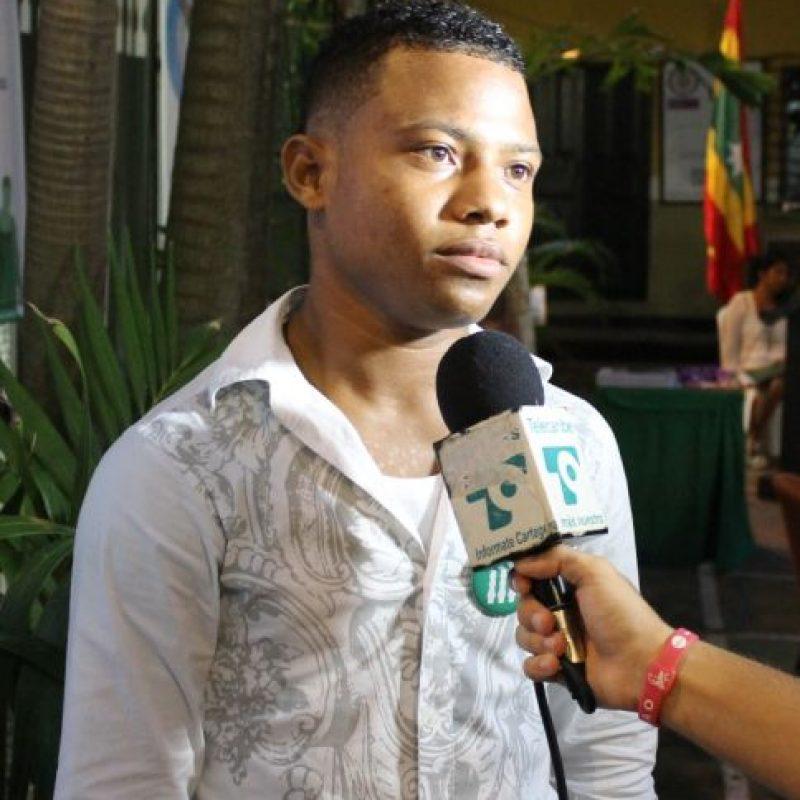 Dixon en una entrevista.