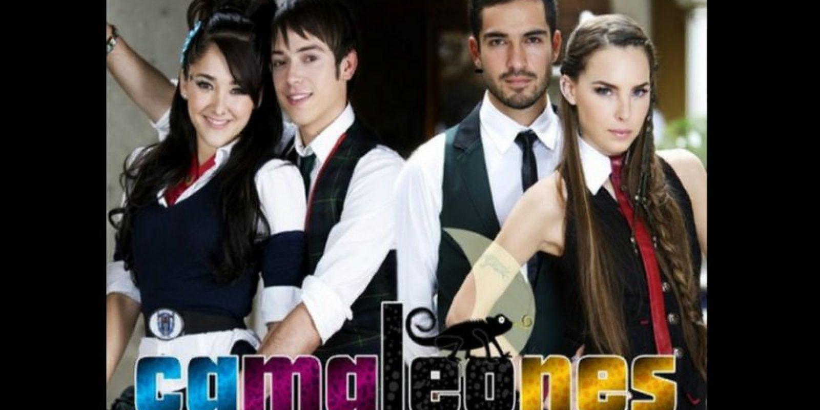"""Cuando ella comenzó a actuar en la telenovela """"Camaleones"""", Giovani la acompañaba de vez en cuando al foro de la novela. Foto:Televisa"""