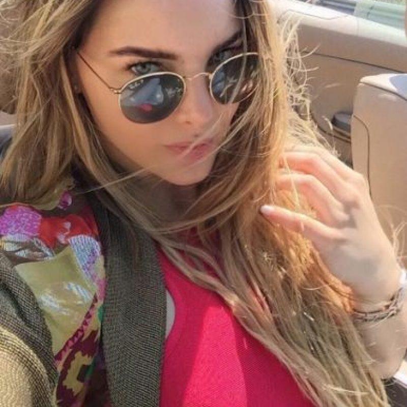 """Jamás me rindo, nunca me voy a rendir"". Foto:Instagram/Belindapop"