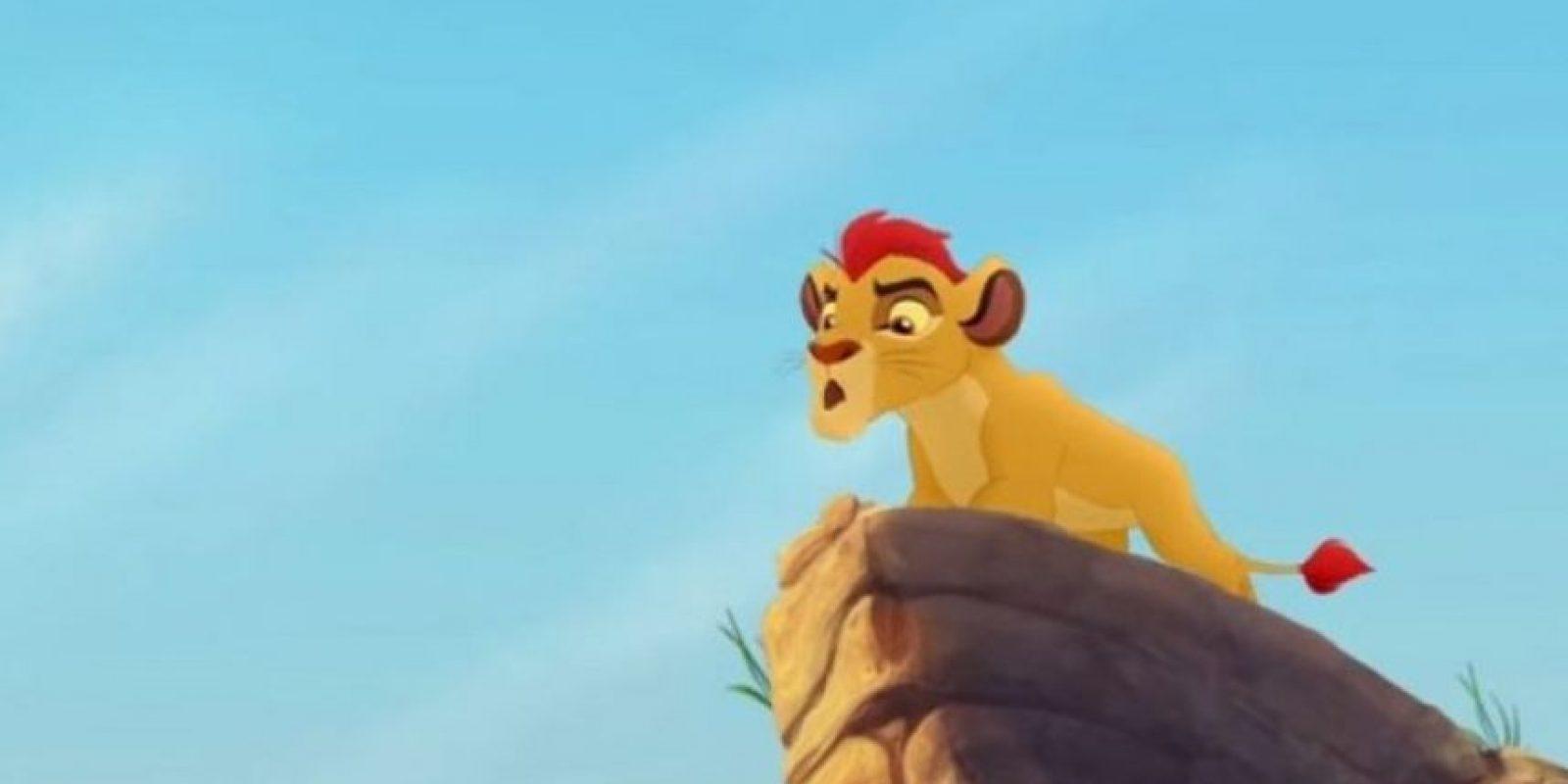 """La historia se centrará en """"Kion"""", el segundo hijo de """"Simba"""" y """"Nala"""", quien lidera a un grupo llamado """"Lion Guard"""", que trata de proteger las tierras del reino. Foto:vía facebook.com/lionking"""