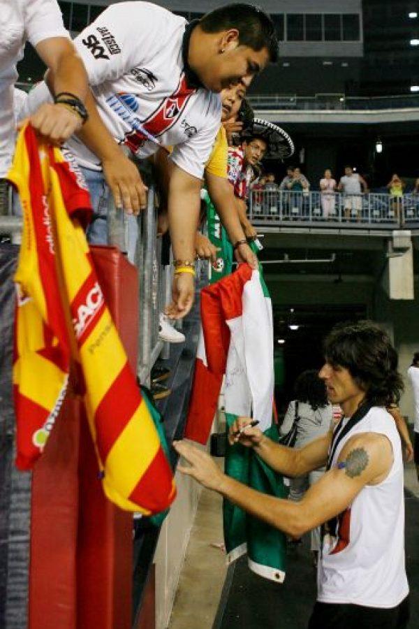 Portero argentino nacionalizado mexicano Foto:Getty Images