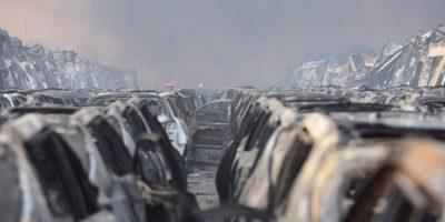 Así es como despertó la ciudad tras la serie de explosiones Foto:Getty Images
