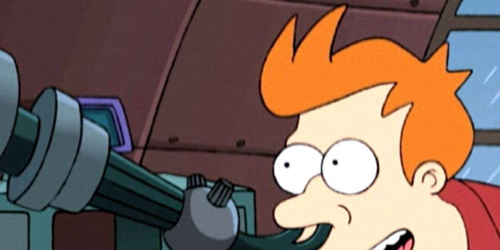 Fry descubrió una gran bola de basura que se dirigía a la Tierra. Foto:vía FOX