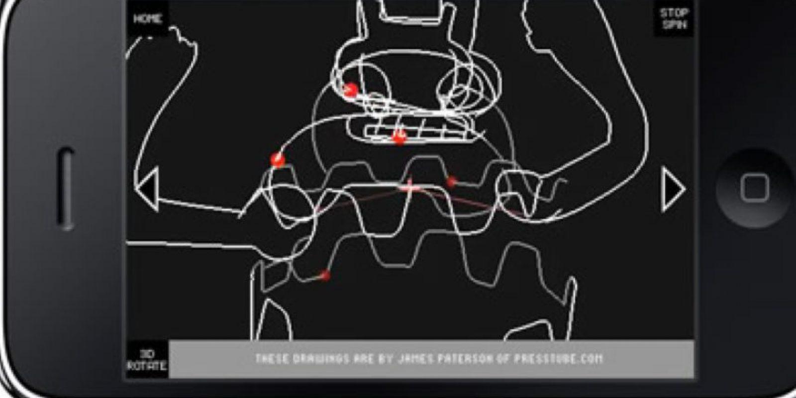 Todos los dibujos en 3D los traduce en sonidos. Foto:vía Sonic Wire Sculptor