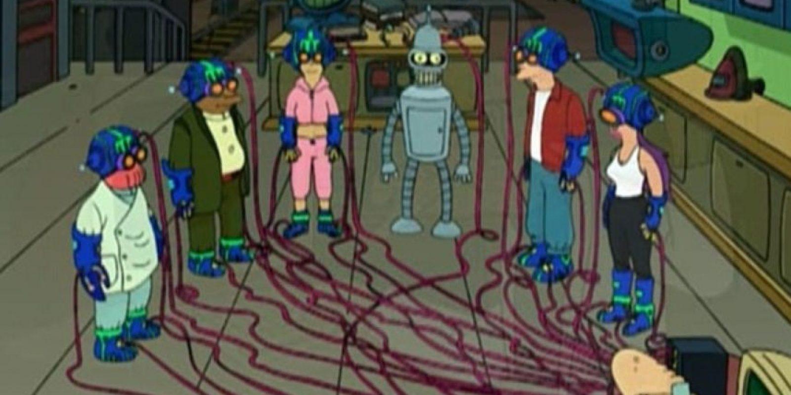 Con este sistema, los personajes entraban a un mundo de realidad virtual. Foto:vía FOX