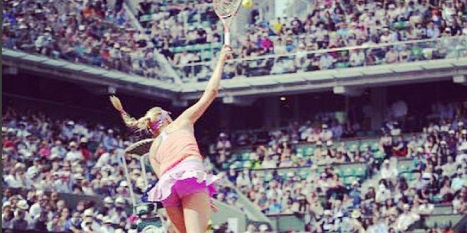 Ocupa el puesto 127 del mundo, según la WTA Foto:Vía instagram.com/donnavekic