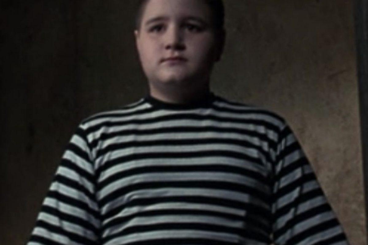 """Mejor conocido como """"Pugsley Addams"""" en as películas de """"Los Locos Adams"""" Foto:YouTube"""
