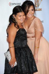 "Posteriormente apareció en la serie de Disney Channel, ""Buena Suerte Charlie!"" Foto:Getty Images"