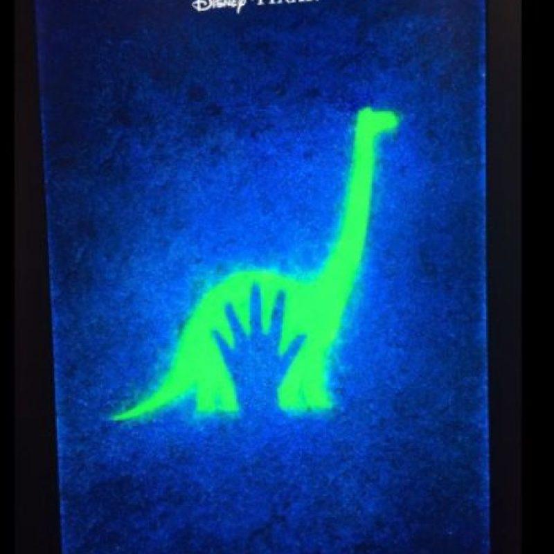 """El estreno de """"Un gran Dinosaurio"""" Foto:vía twitter"""