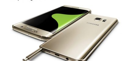 S6 Edge Plus y Note 5 Foto: Samsung