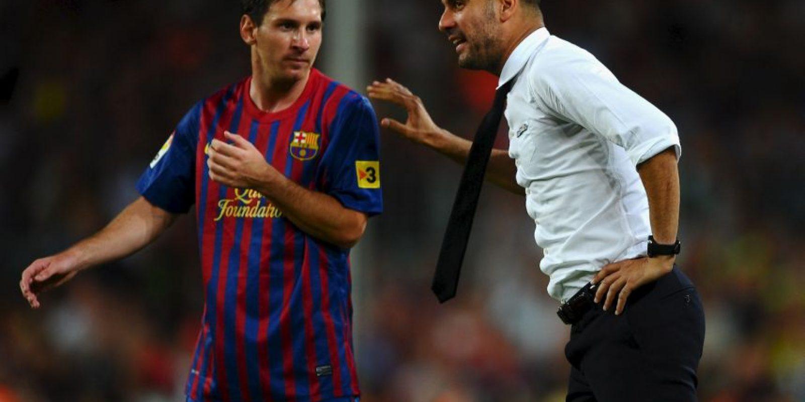 Un año después tomó las riendas del primer equipo en sustitución de Frank Rijkaard. Foto:Getty Images