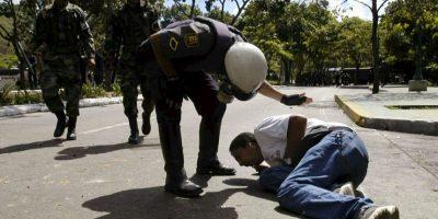 Las imágenes fueron capturadas sin que los agentes se dieran cuenta. Foto:Getty Images