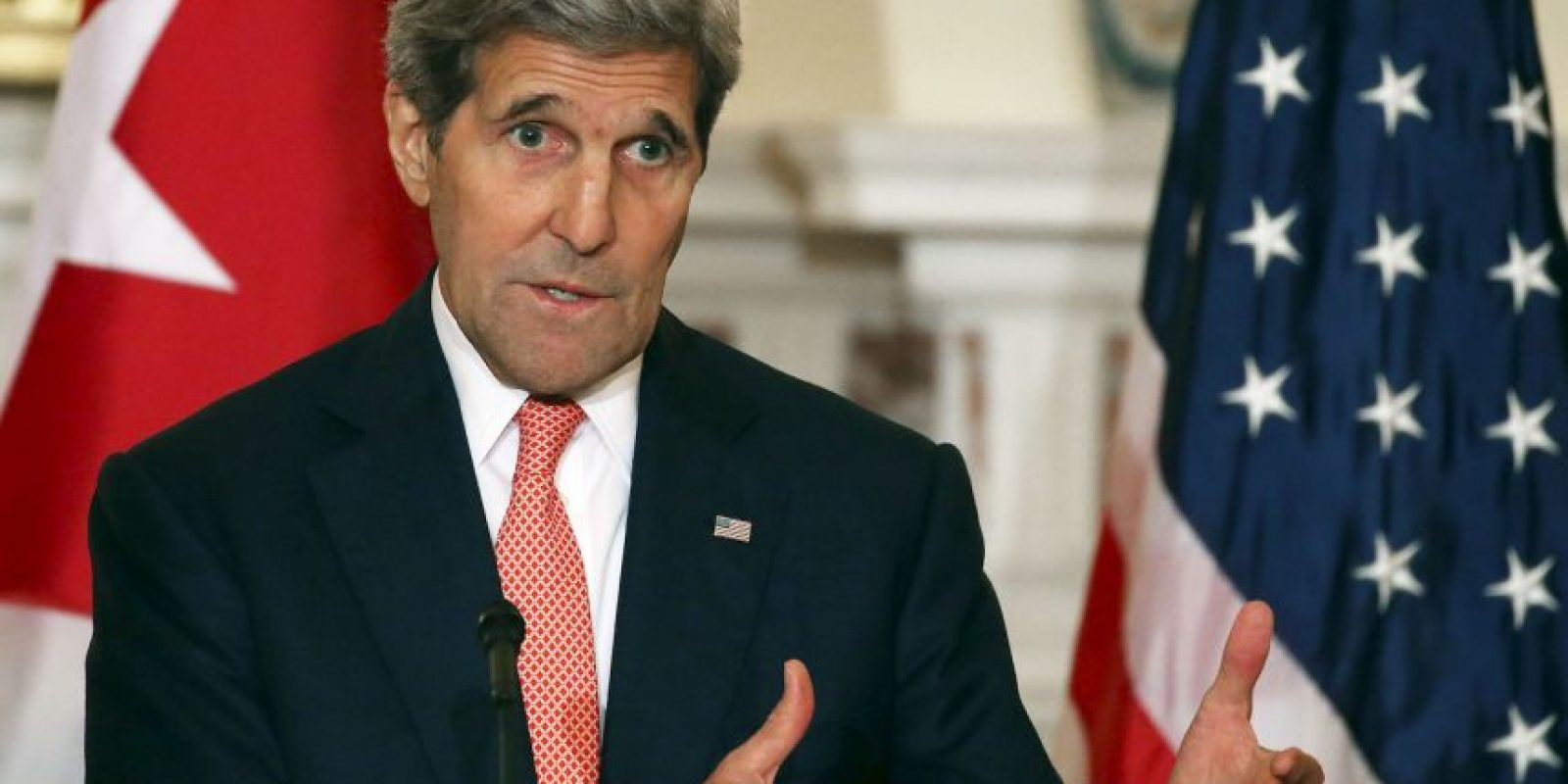 John Kerry, Secretario de Estado estadounidense, será el primer funcionario de ese rango en visitar Cuba en 70 años. Foto:Getty Images