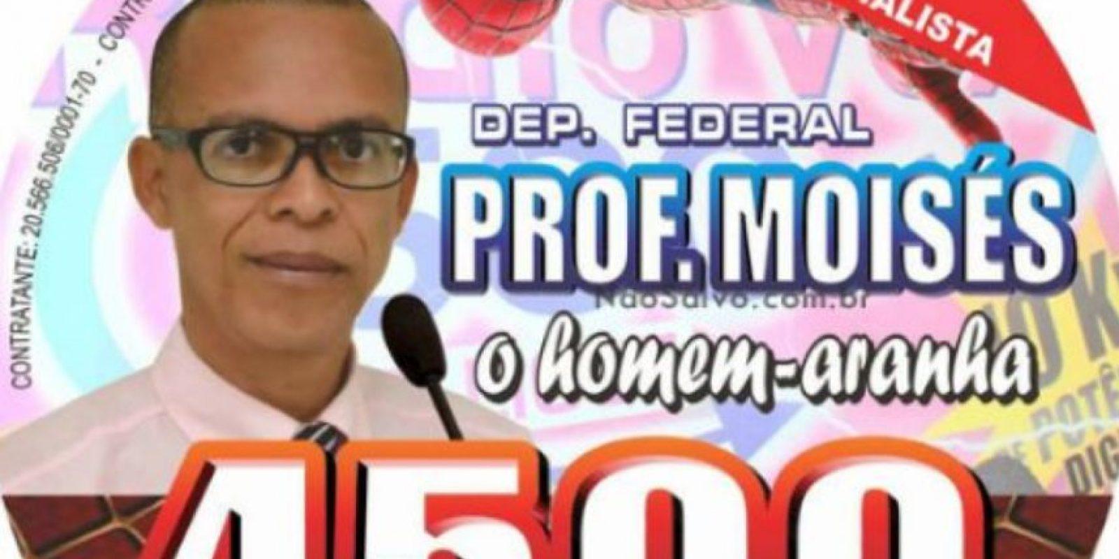 El Hombre Araña. Foto:vía Naosalvo.com.br