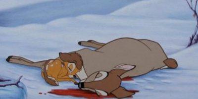 """Y cuando """"Bambi"""" le pregunta a su madre dónde está #toomuch Foto:vía Disney"""