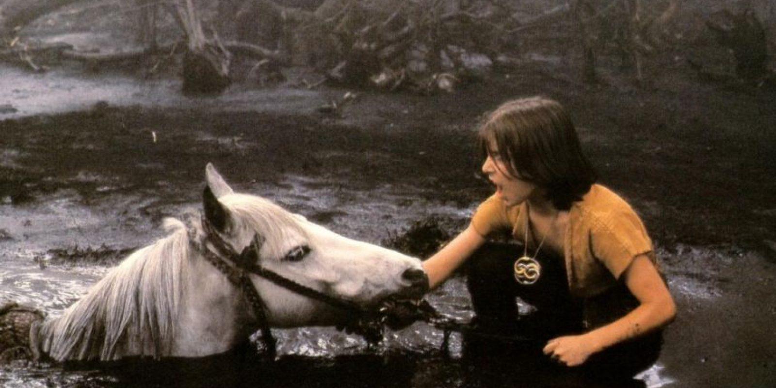 Un caballo dejándose morir es lo peor de este mundo. Foto:vía TriStar