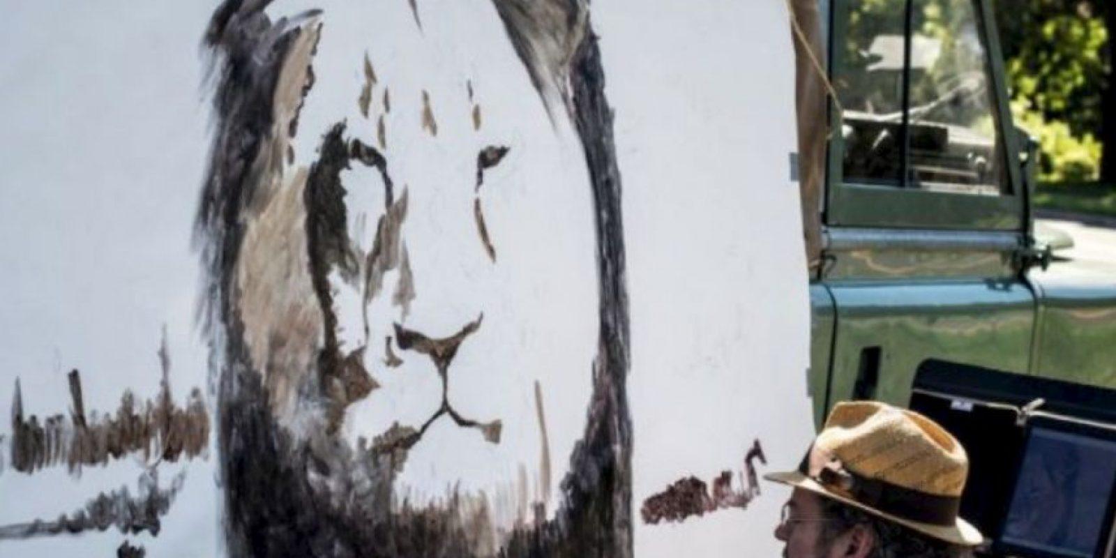 Animalistas se agolparon para protestar. Foto:vía AFP