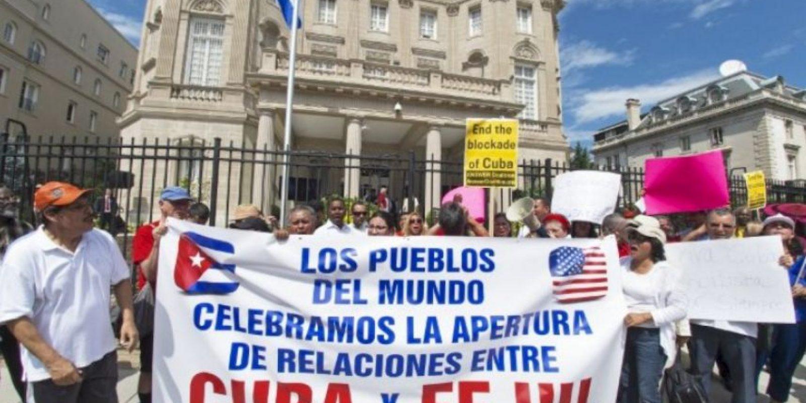 La Embajada de los Estados Unidos cerró en 1961 cuando ambos países rompieron relaciones diplomáticas. Foto:AP