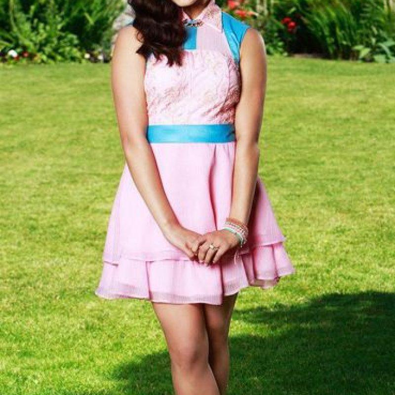 Audrey es la hija de Aurora (la Bella Durmiente) y el Príncipe Phillip. Es la capitana de las animadoras y le encanta la moda. Foto:Vía losdescendientes.disney.es/Vía losdescendientes.disney.es/