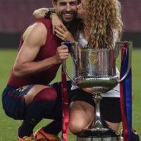 La cantante fue víctima de los balonazos del futbolista del Barcelona. Foto:vía instagram.com/shakira