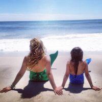"""Thalía aceptó disfrazarse de sirena para """"jugar"""" con su hija. Foto:vía instagram.com/thalia"""