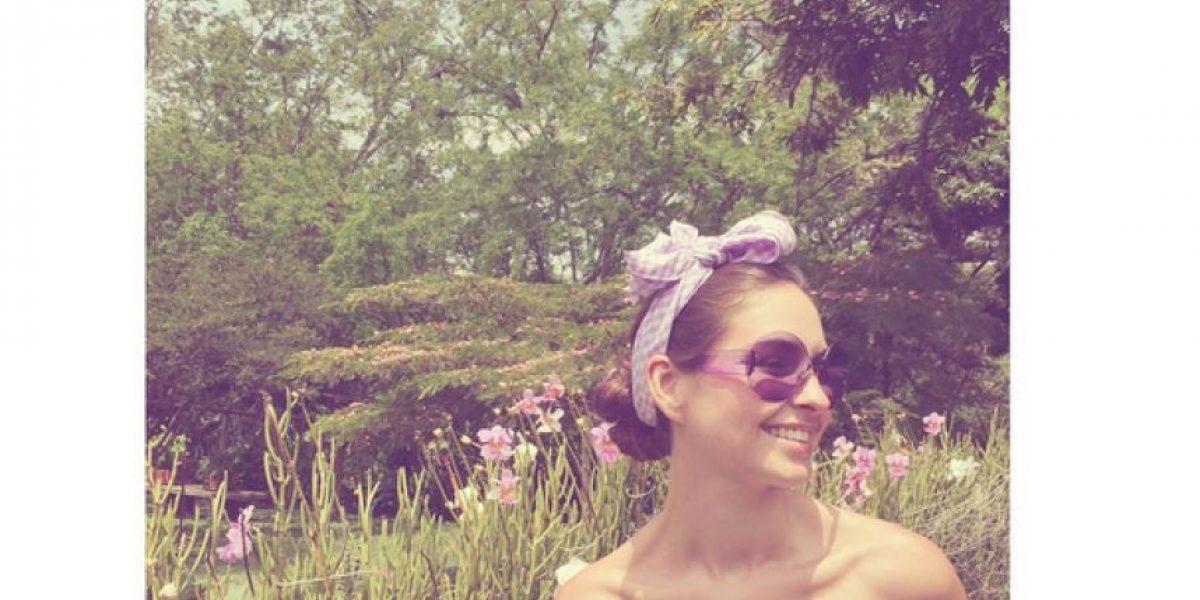 Fotos: así pasó Taliana Vargas sus últimas horas como soltera