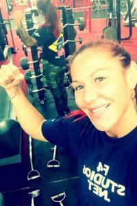 Cris Cyborg es la actual campeona del peso pluma de 66 kilos (145 libras). Foto:Vía instagram.com/criscyborg
