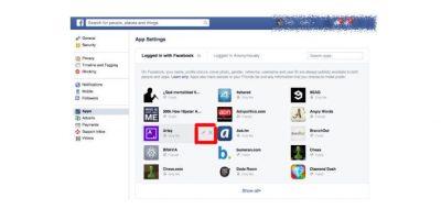 """Cuando decidan qué app eliminar seleccionen """"x"""" en cada una de los programas Foto:Facebook"""