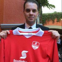 Luego de que agrediera al comentarista deportivo Christian Martinoli y perdiera el trabajo Foto:Vía twitter.com/martinolimx