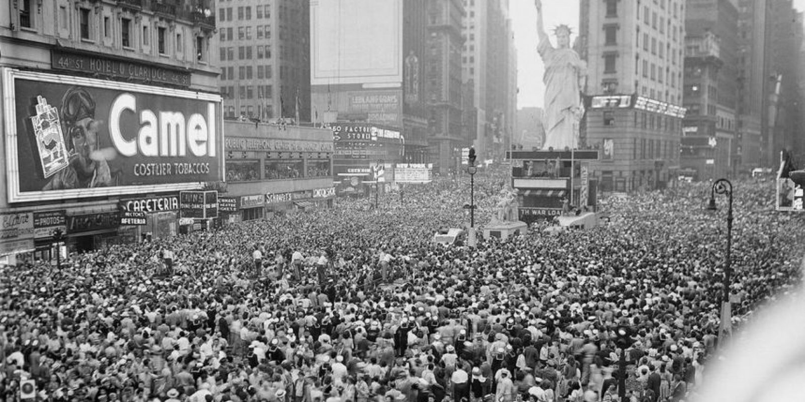 Esta es una toma de el 14 de agosto de 1945 Foto:twitter.com/EpicCosmos