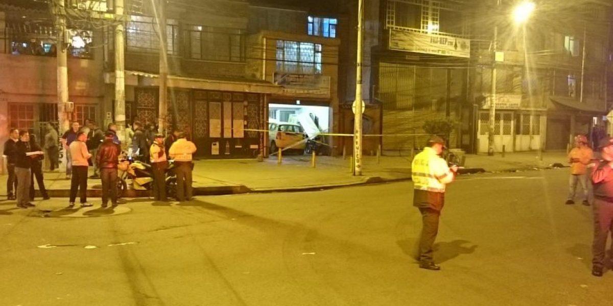 Explosión de granada mató dos mecánicos en el sur de Bogotá