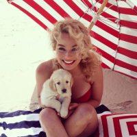 """Es una de las pocas personas que """"CR7"""" sigue en Instagram Foto:Vía instagram.com/margotrobbie"""