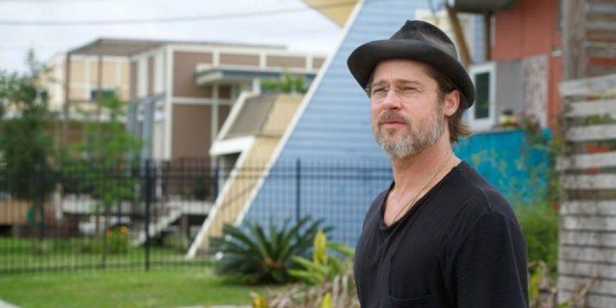 Así luce el vecindario que Brad Pitt