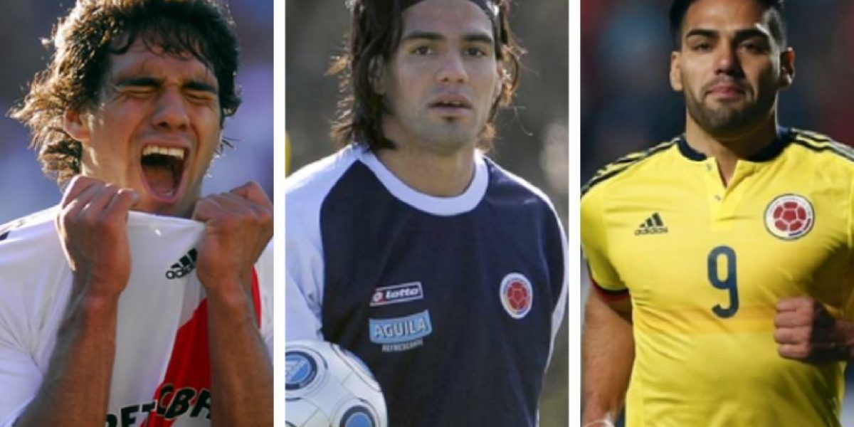 Fotos: Falcao y su cambio extremo durante su carrera
