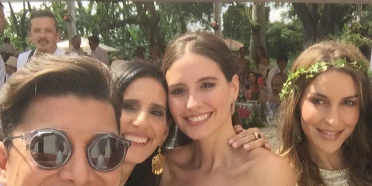 Fotos: el secreto detrás del vestido de Taliana Vargas