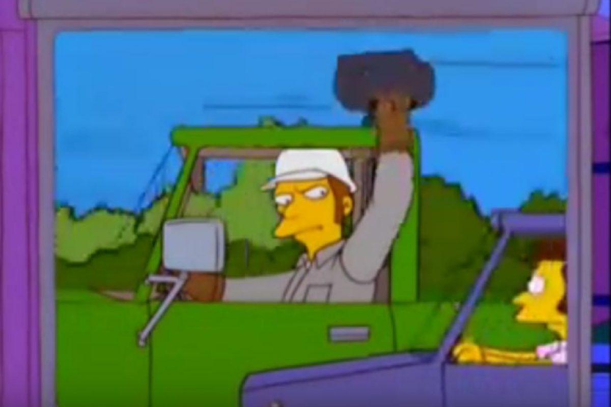 La falta de tolerancia en las vias es una realidad en Springfield y en Bogotá.