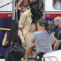 Kim Kardashian ha dejado claro que su embarazo no le pondrá freno a su estilo de vida. Foto:Grosby Group