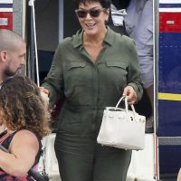 Y su madre, Kris Jenner Foto: Grosby Group